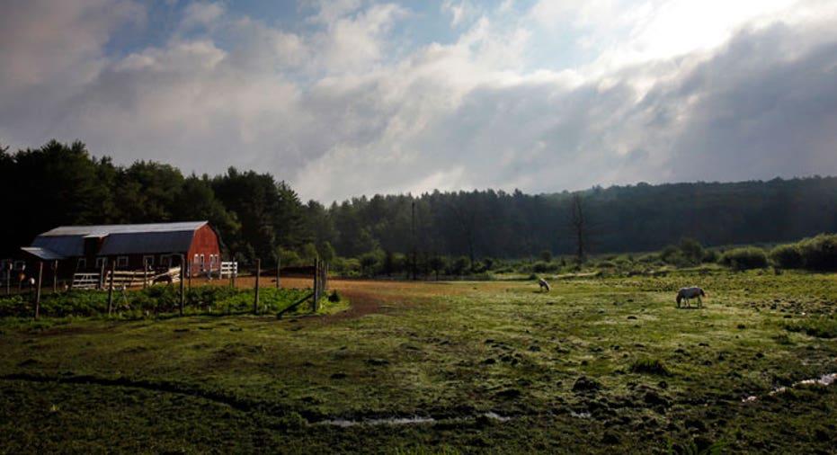 New Hampshire, Farm, land