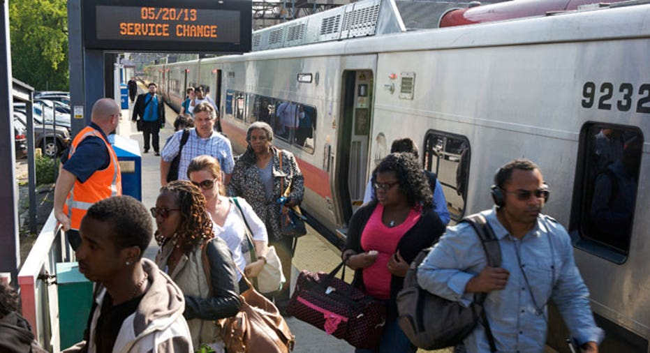 Commuters, South Norwalk, train station, Norwalk Metro-North, connecticut