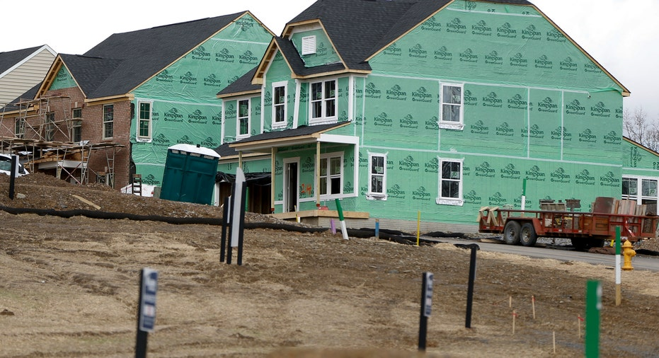 New Home Being Built AP FBN