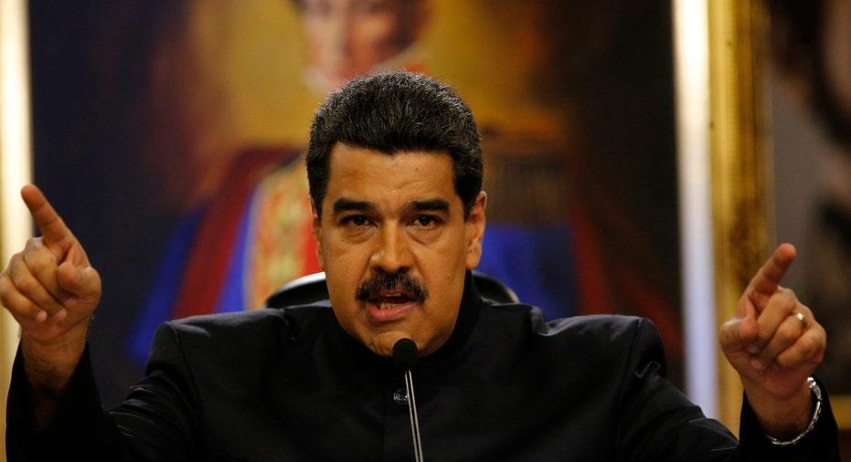 Nicolas Maduro Venezuela AP FBN