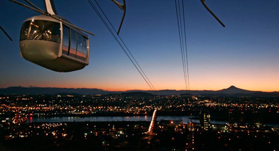 Oregon, Skyline, travel, lift