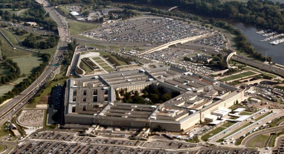 Pentagon Aerial View, 640x360
