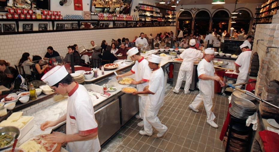Pizzeria, PF slideshow