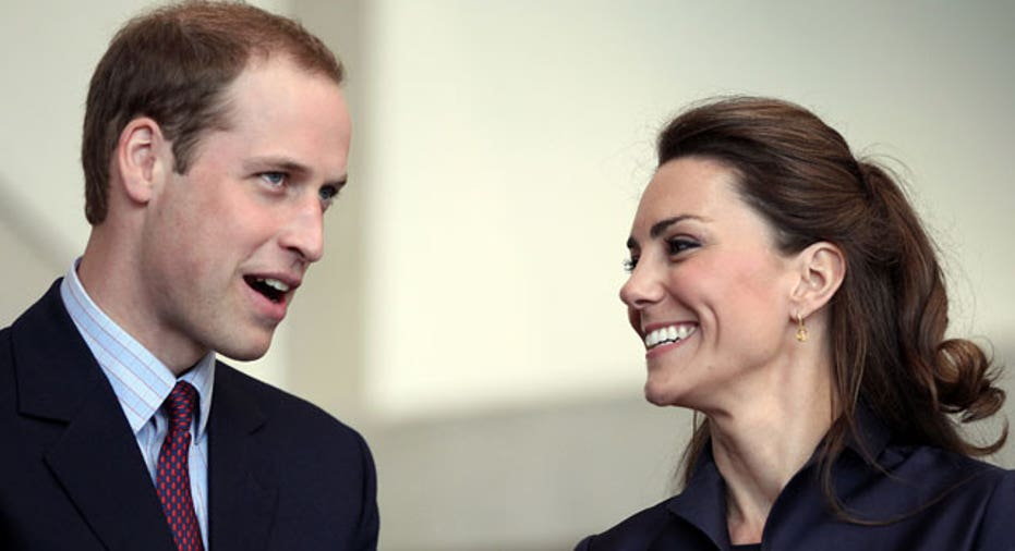 File Photo of Prince William and Kate Middleton Reuters