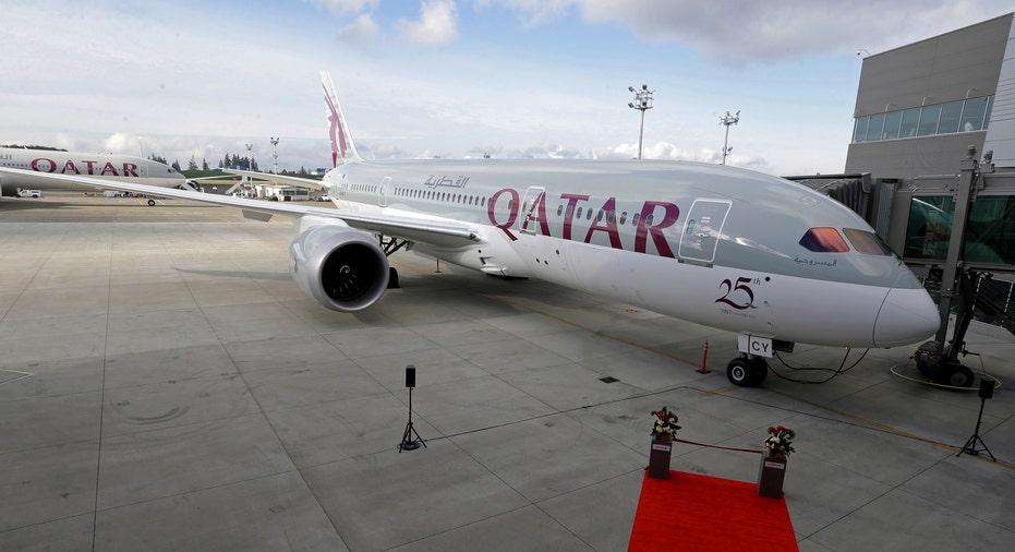 Qatar Airways Plane FBN