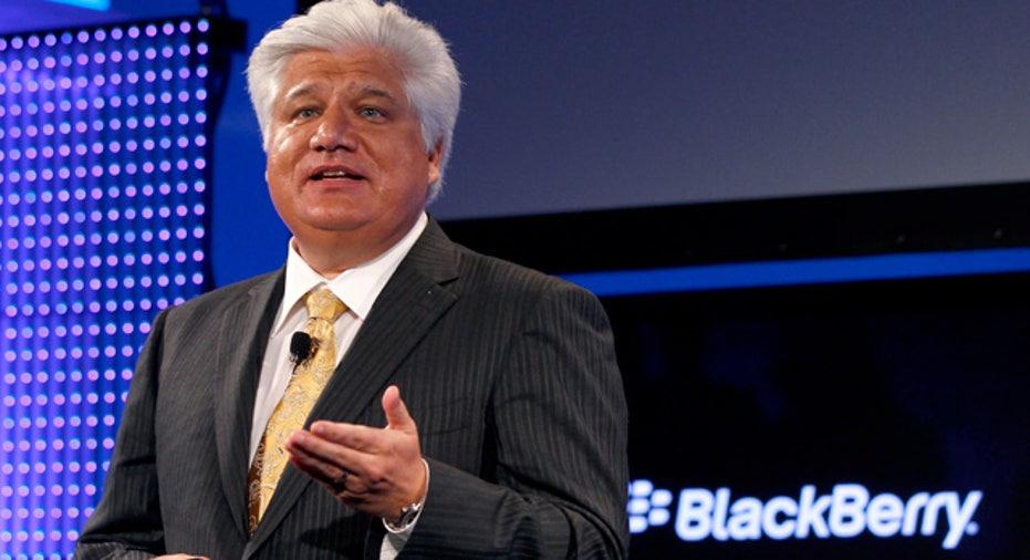 RIM Founder Lazaridis Unveils BlackBerry Torch