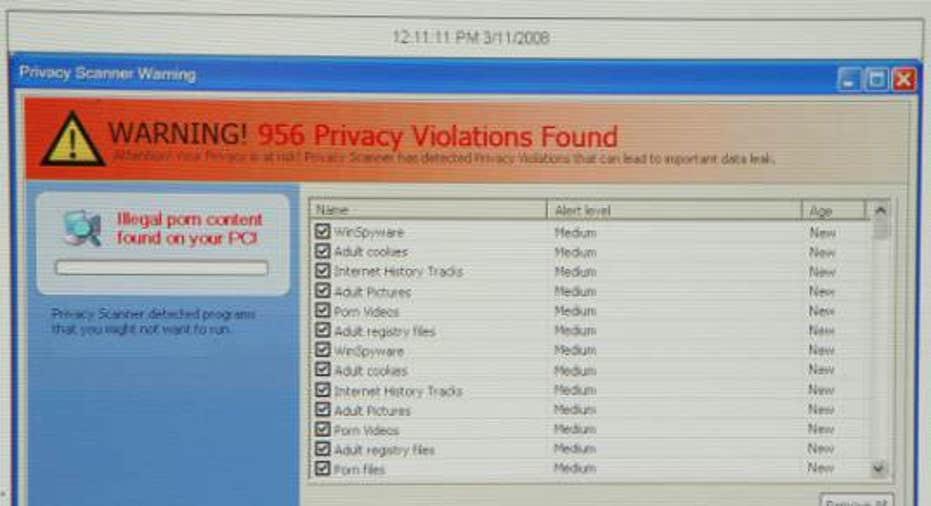 Fraudulent Website