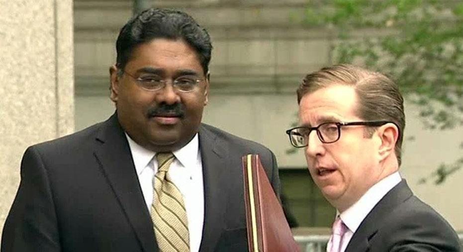 Raj Rajaratnam Outside the Federal Courthouse