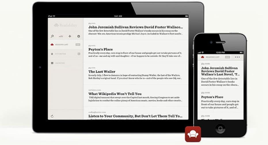 Readability app