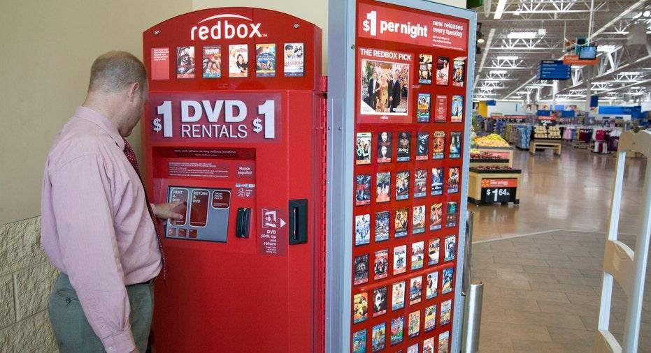 Redbox Kiosk at Walmart