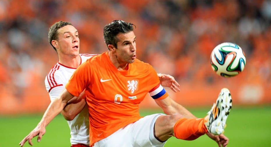 Robin Van Persie netherlands world cup soccer