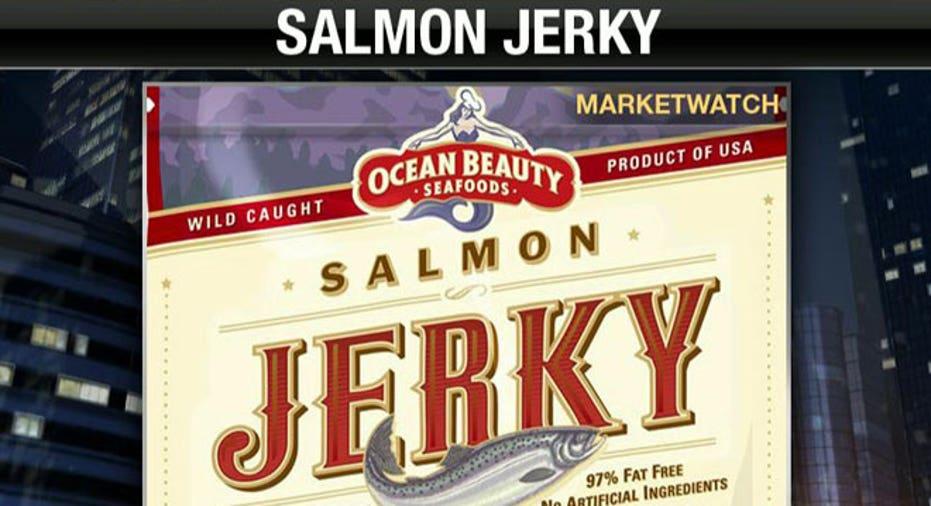 Salmon Beef Jerky