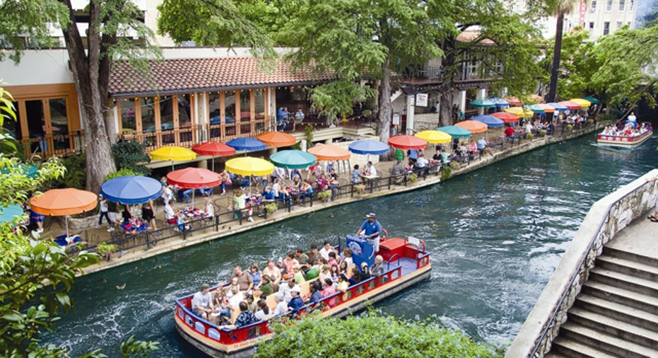 San Antonio River Walk View, 640x360