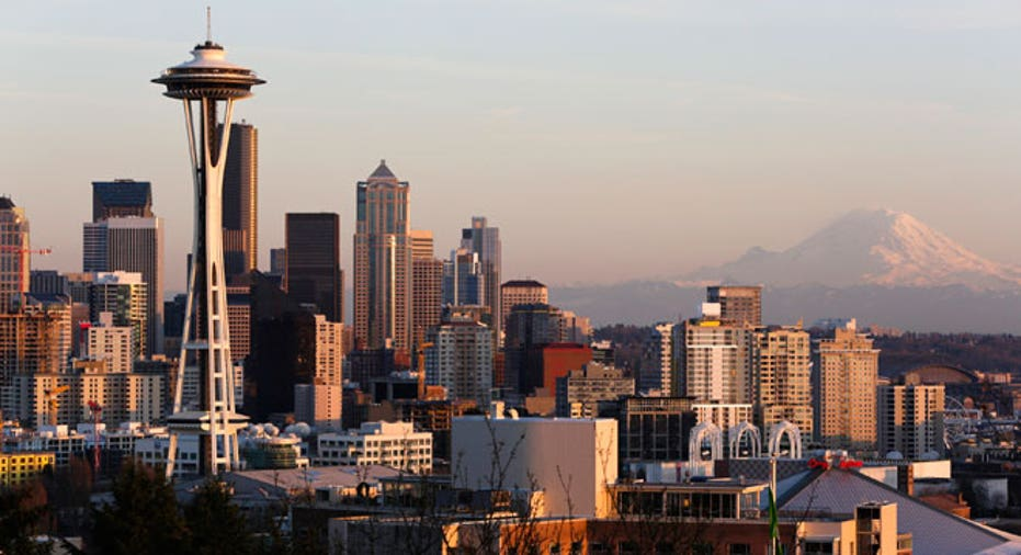 Seattle Space Needle, Seattle, Washington