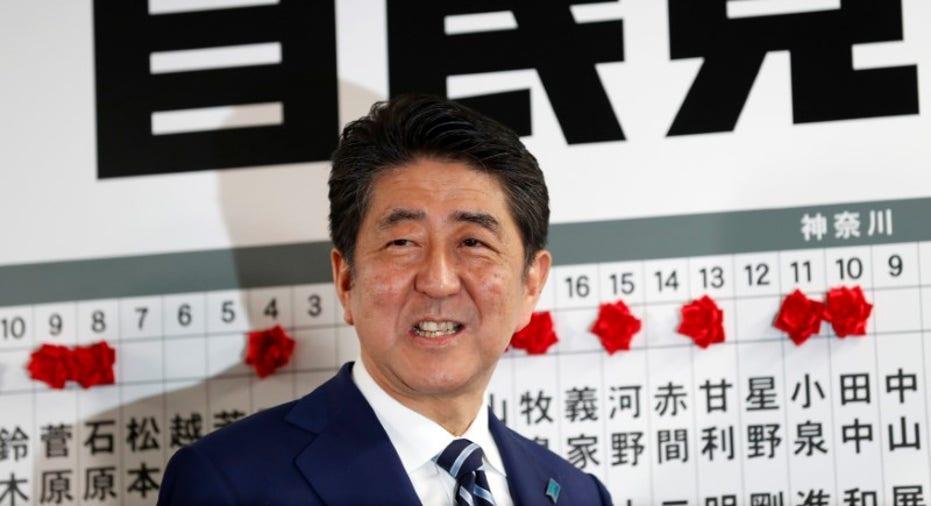 Shinzo Abe Japan Election 2017 RTR FBN