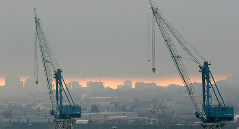 Shipping Cranes in Portland, Oregon