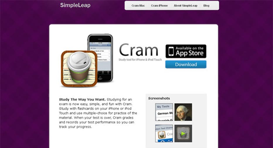 College Simple Leap App, PF Slideshow