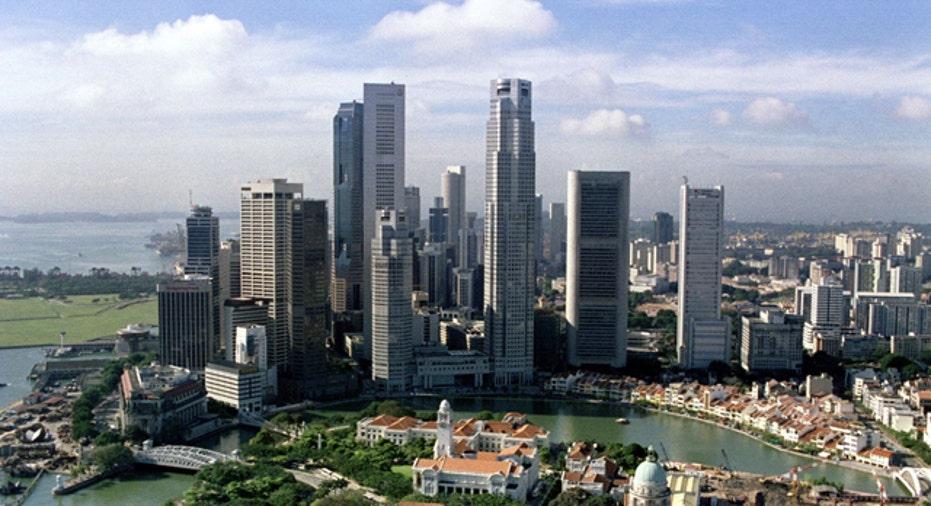 Singapore Downtown Skyline, Reuters