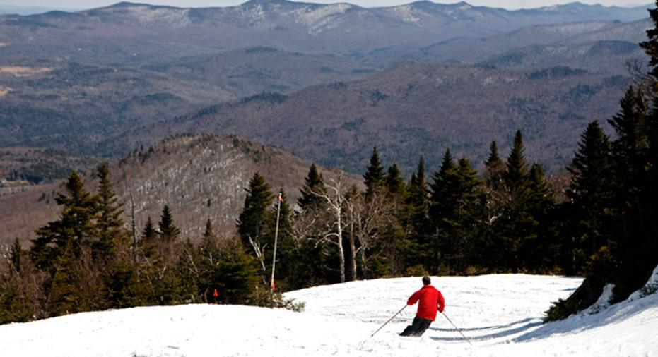 Skiing Vermont