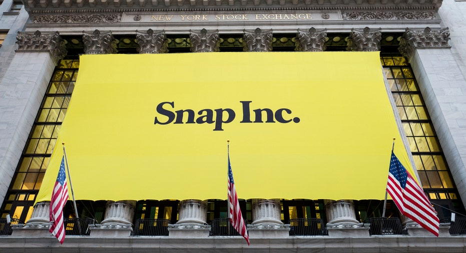 Snap Inc New York Stock Exchange AP FBN