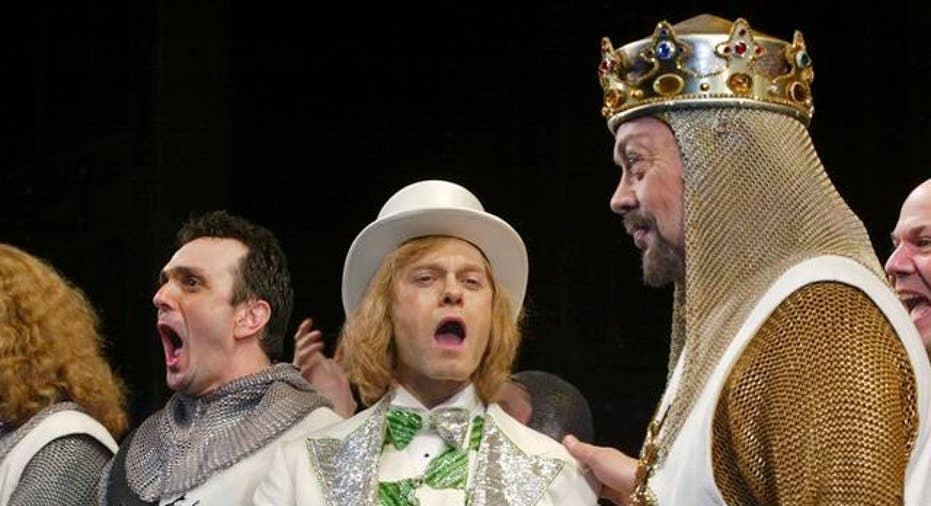 Monty Python's Spamalot on Broadway