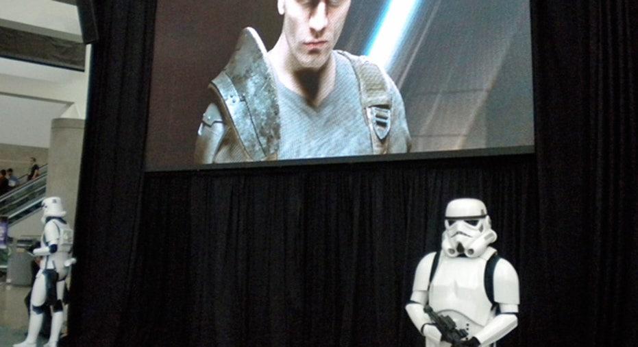 Star Wars Game Display
