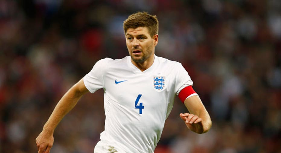 Steven Gerrard england world cup soccer