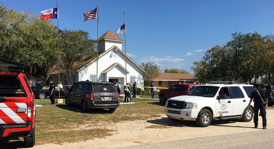 Texas Church Shooting AP FBN