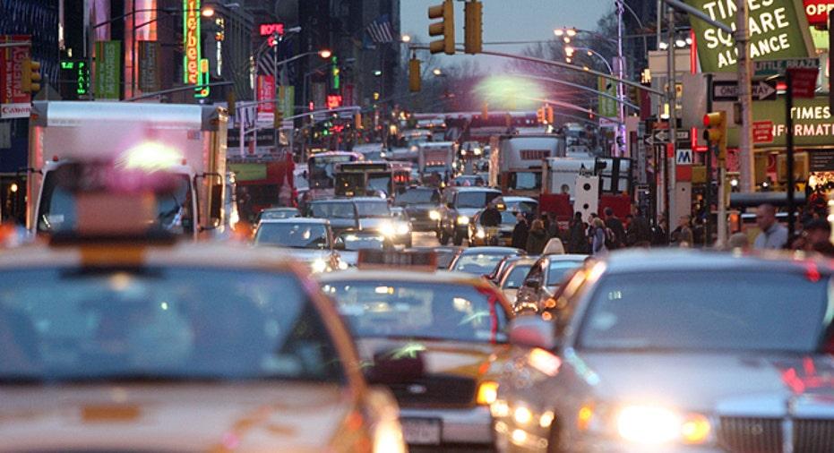 Times Square, PF slideshow
