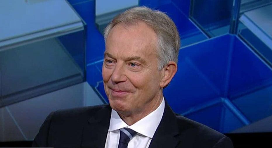 Former U.K. Prime Minister Tony Blair