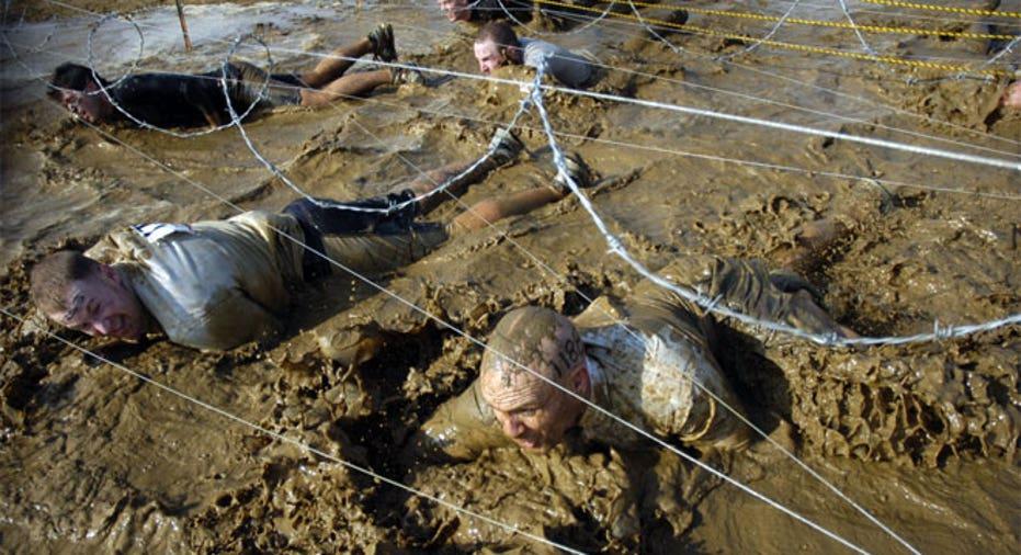 Tough Mudder Mud Stage