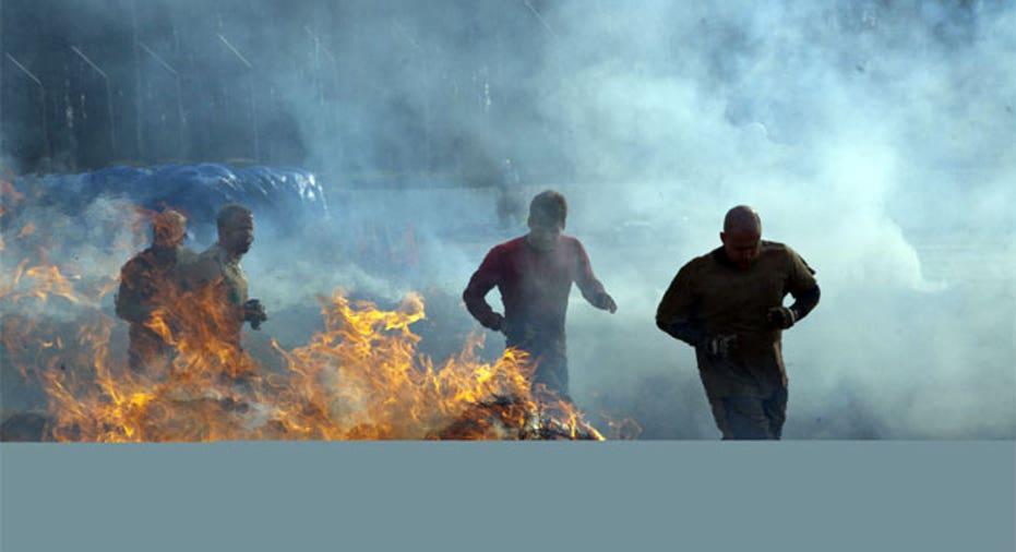 Tough Mudder Fire Stage