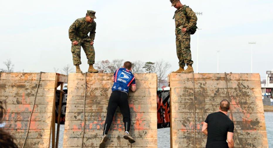 Tough Mudder Wall Stage