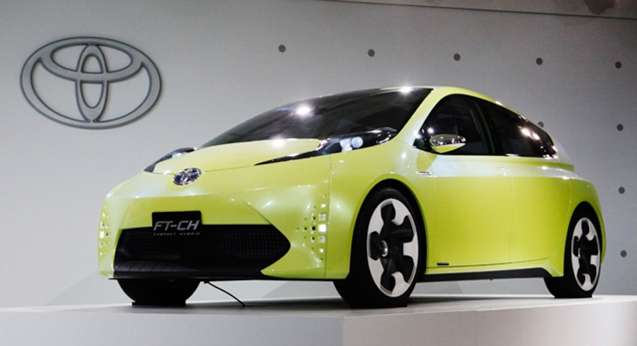 Toyota FT-CH hybrid electric concept