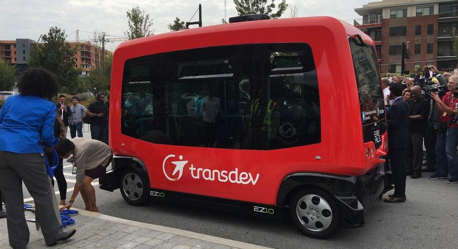 Transdev EZ10A Autonomous Vehicle AP FBN