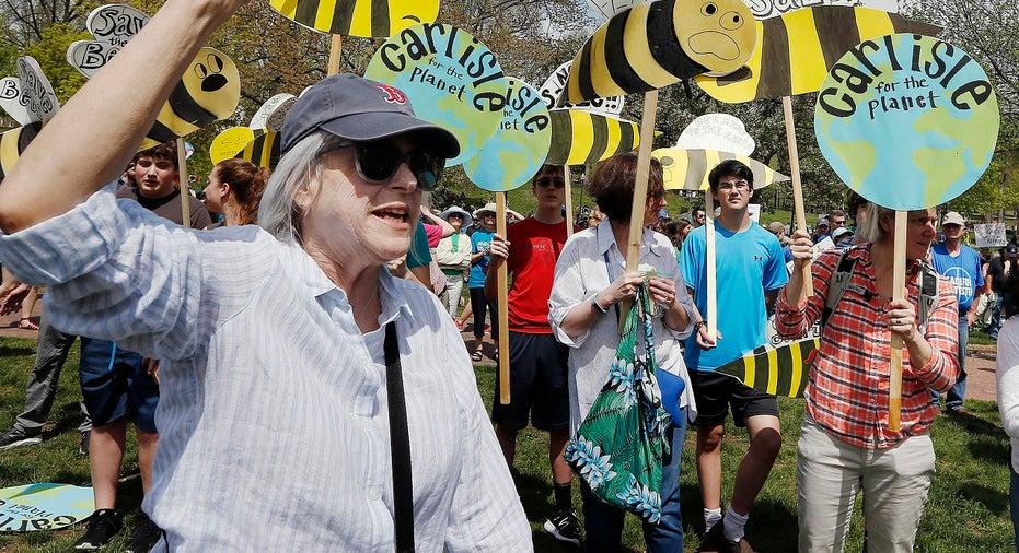 Trump climate protest