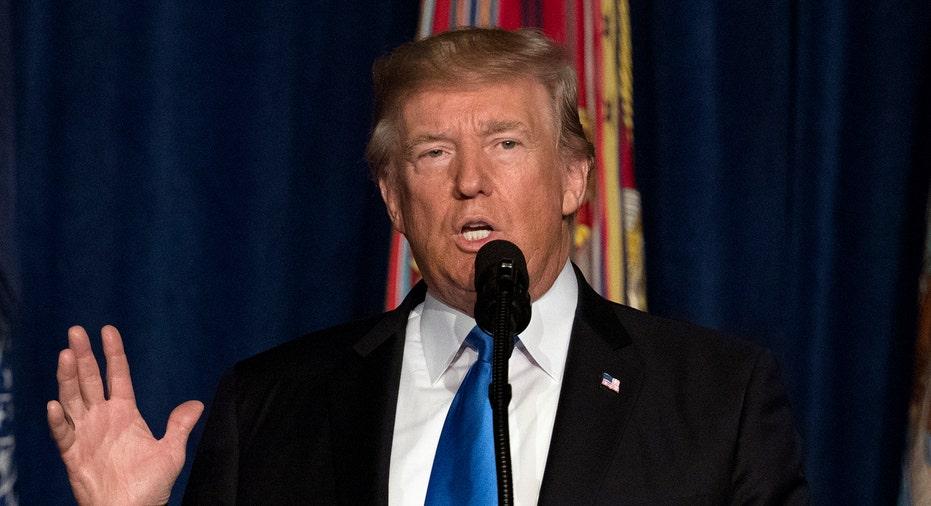 Trump Afghanistan Speech 2017 AP FBN