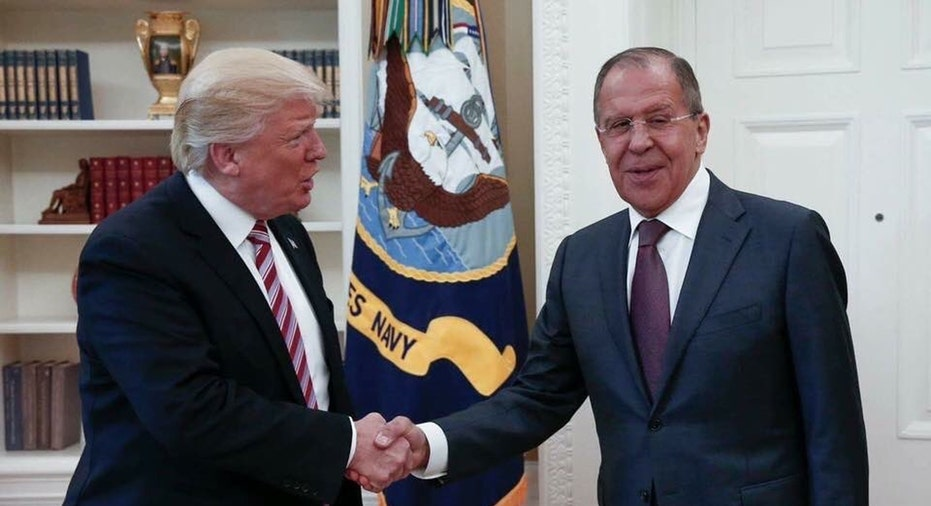 Trump and Sergey Lavrov  AP FBN
