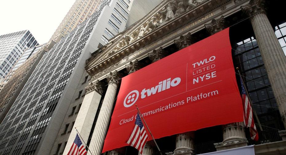 Twilio Sign Wall Street RTR FBN