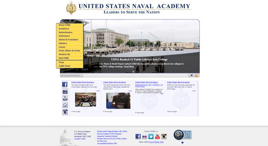 US Naval Academy site