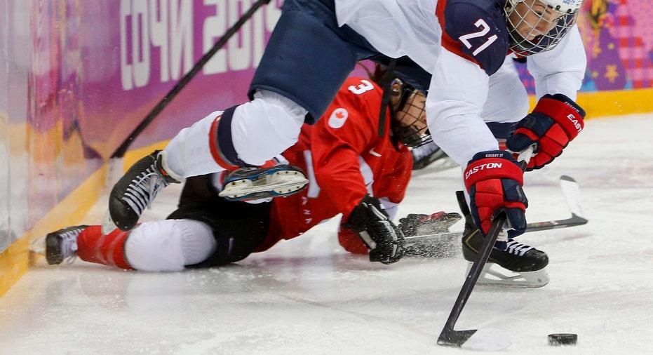 US Womens Hockey AP FBN