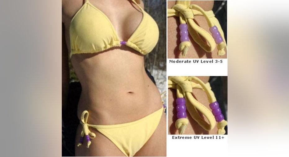 Solestrom Smartswim UV Monitoring Bikini