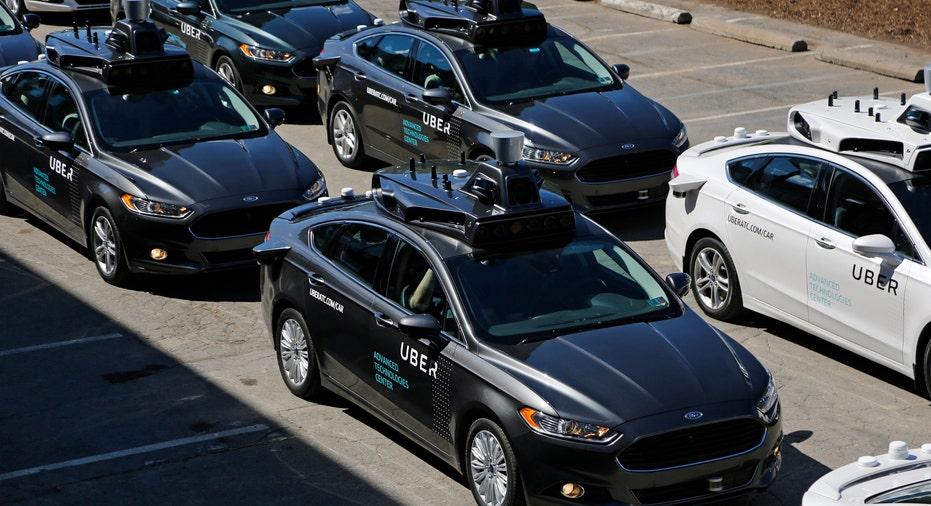 Uber self-driving cars FBN