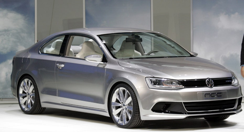 Volkswagen Concept Coupe Hybrid