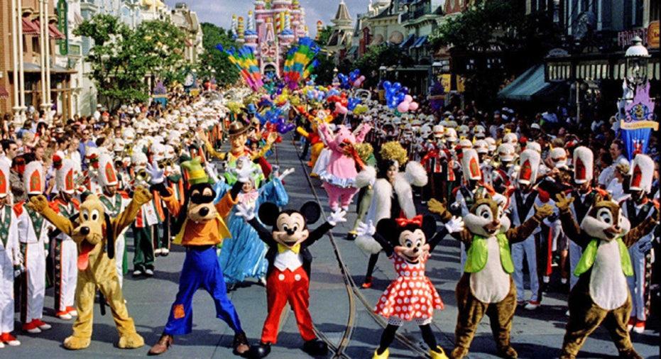 Parade at Disney World