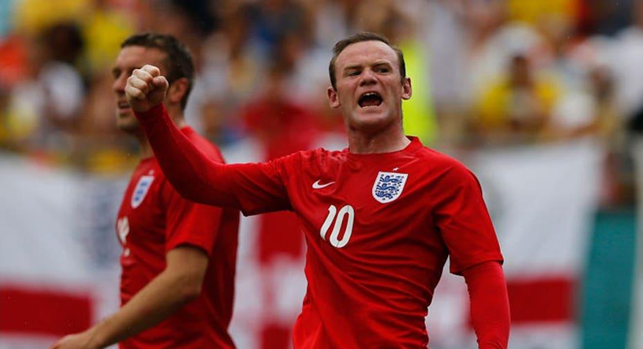 Wayne Rooney england world cup soccer