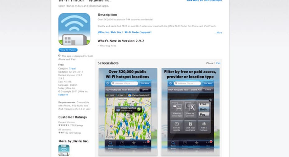 College Wi-Fi Finder App, PF Slideshow