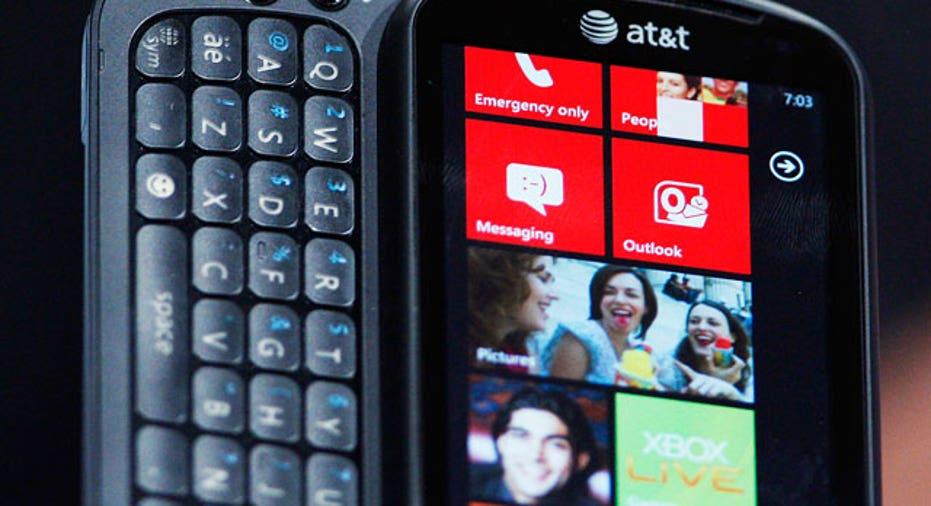 Windows Phone 7 LG Device Close Up