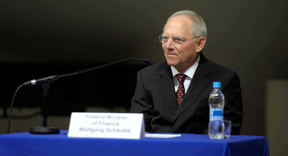 Wolfgang Schauble EU