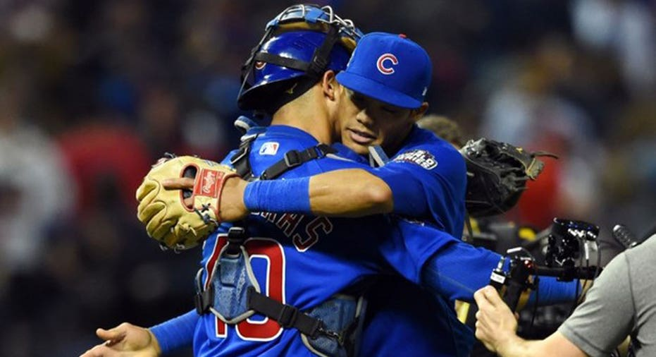 Cubs WS GM6 Tommy Gilligan-USA TODAY Sports